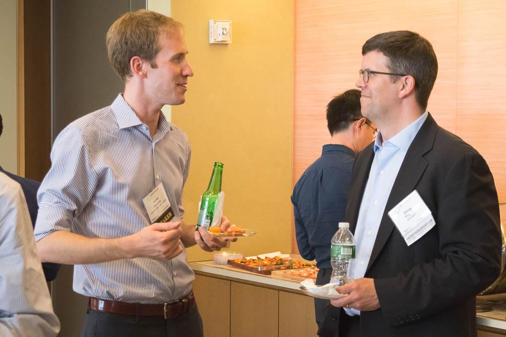 Blake Stevens, LaunchLabs, Doug Thiede, NYCEDC