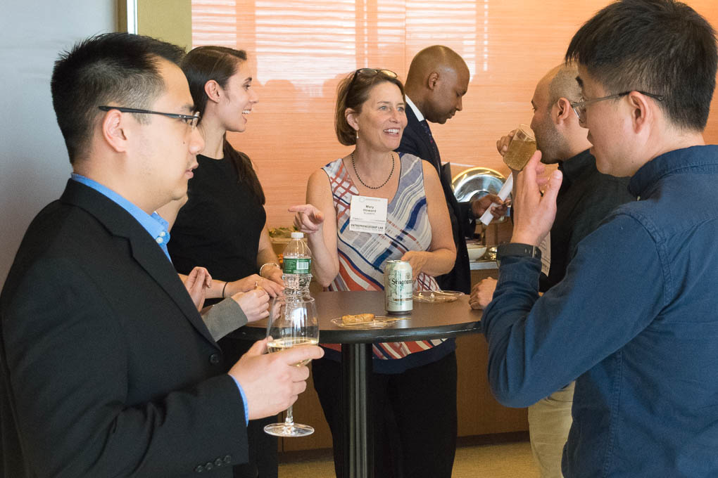 Carlo Yuvienco, NYCEDC, Erini Svokos, Goodwin Procter, Mary Howard, ELabNYC, Dr. Yves Duroseau, Northwell