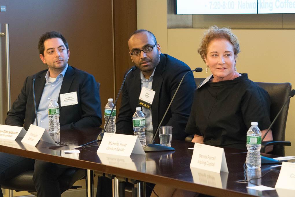 Jonathan Mandelbaum, Accelerator NY, Imran Babar, Orbimed, Michelle Hartz, Golden Seed