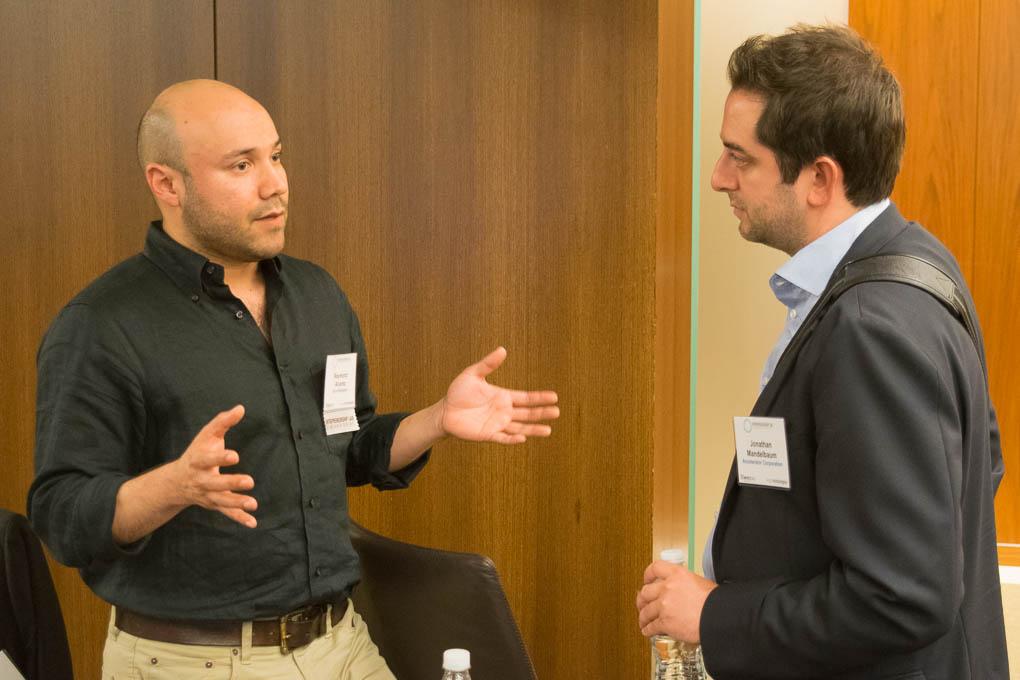 Raymond Alvarex, Ichor Biologics, and Jonathan Mandelbaum, Accelerator