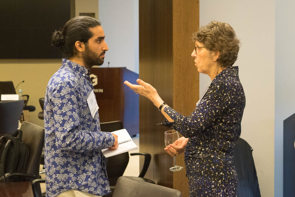 Meshal Alhathal, MEG Cura, and Barbara Sawitsky, ELabNYC