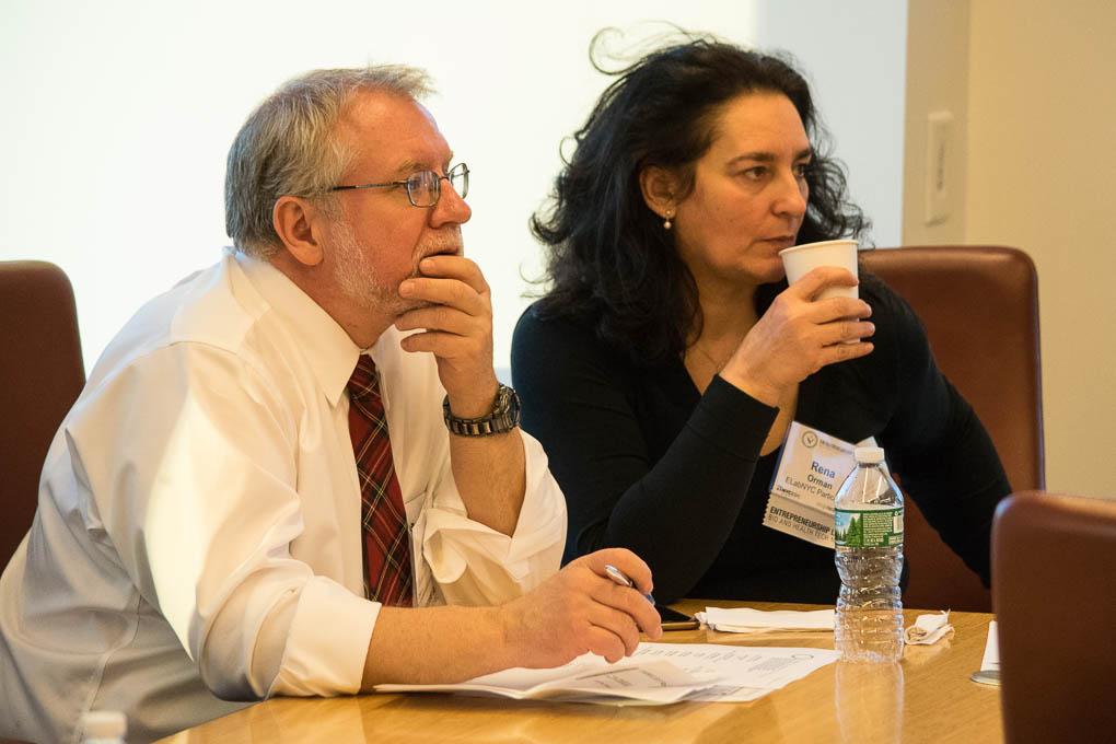 Mark Stewart, and Rena Orman, ELabNYC 2017