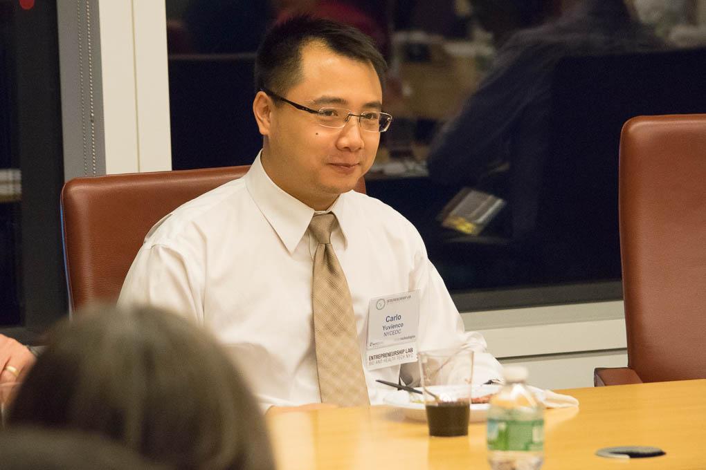 Carlo Yuvienco, NYCEDC