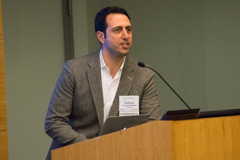 Raphael Frazan Kashani, NYCEDC