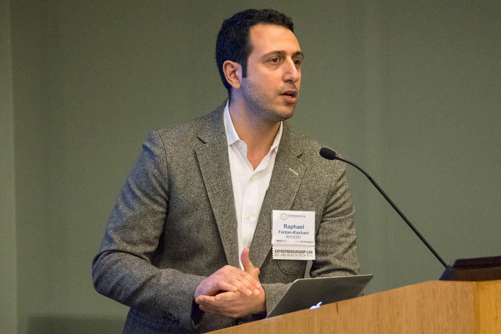 Raphael Farzan Kashani, NYCEDC