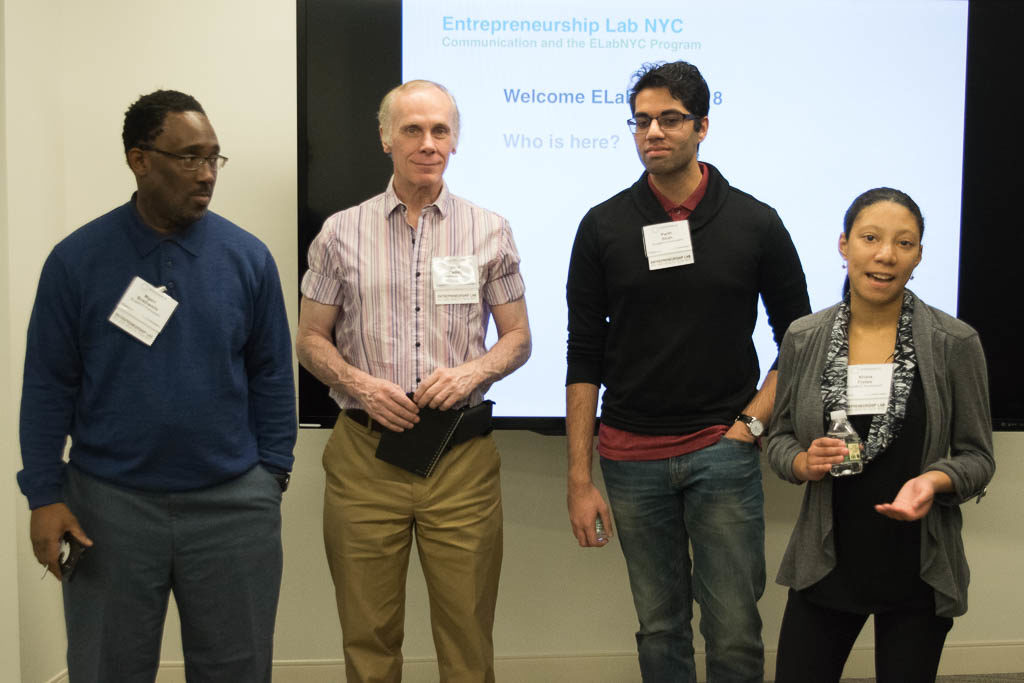 Mgavi Brathwaite, John Cadley, Parth Shah, and Krista Fretes, New York University
