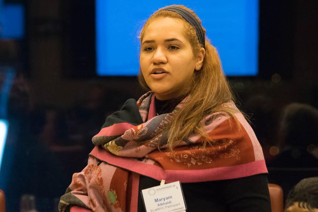 Maryan Alkhaldi, ELabNYC 2017