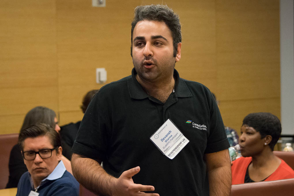 Devansh Sharma, ELabNYC 2017