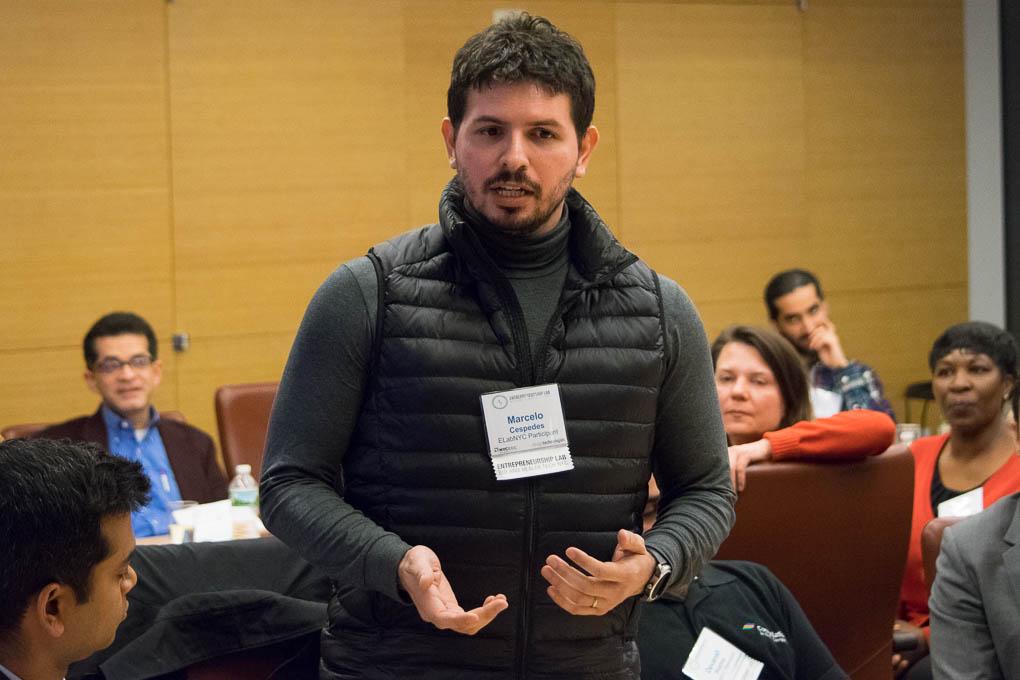 Marcelo Cespedes, ELabNYC 2017