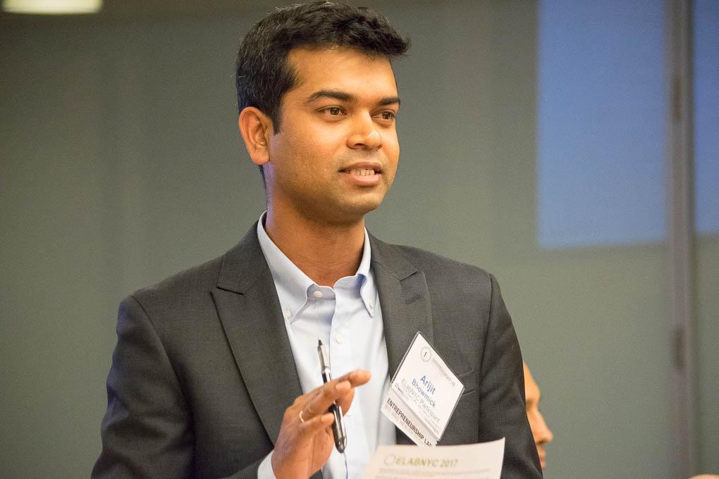 Arijit Bhowmick, ELabNYC 2017