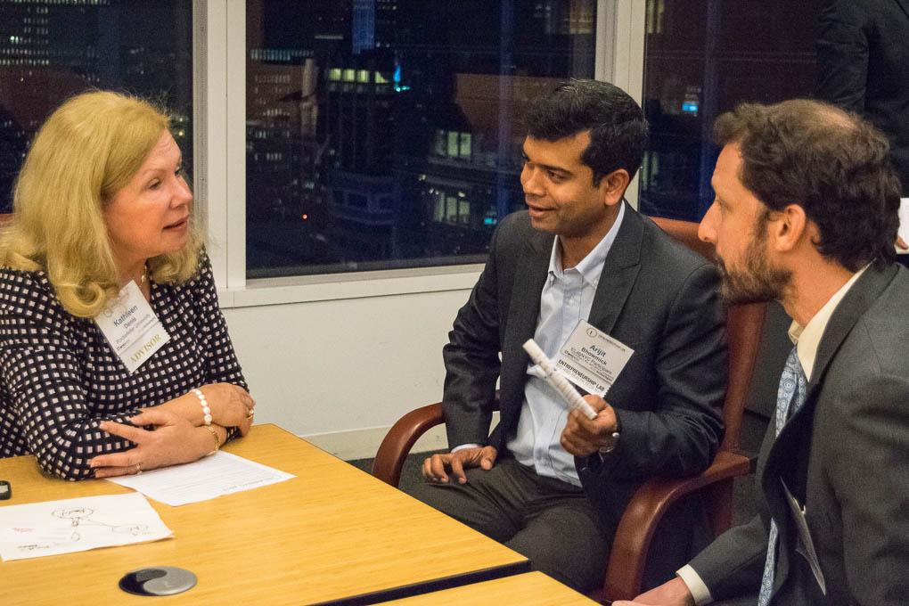 Kathleen Denis, Rockefeller University, Arijit Bhowmick, and Matthew Levy, Einstein, ELabNYC 2017