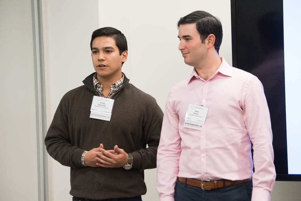 Craig Ramirez and Alex Efron, TexCat