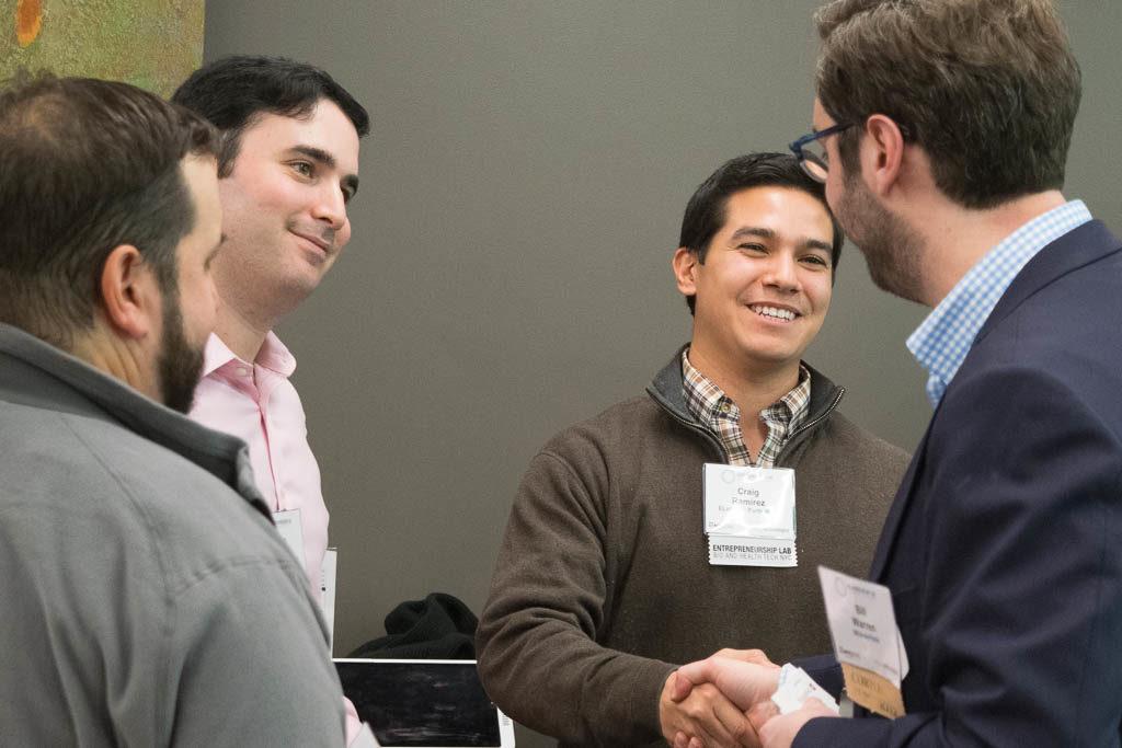 Alexander Efron and Craig Ramirez, New York University, and Bill Warren, WilmerHale