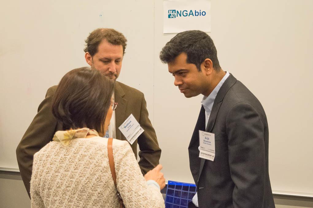 Matthew Levy, Arijit Bhowmick, NGOBio