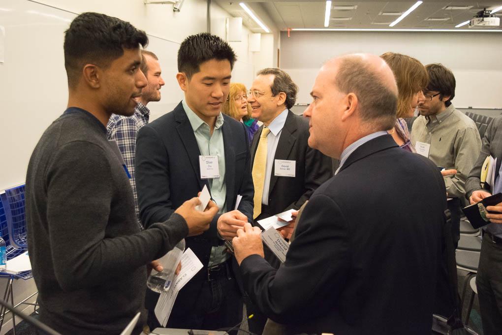 Aleef Mahmud, David Norton, Downstate Biotechnology Incubator