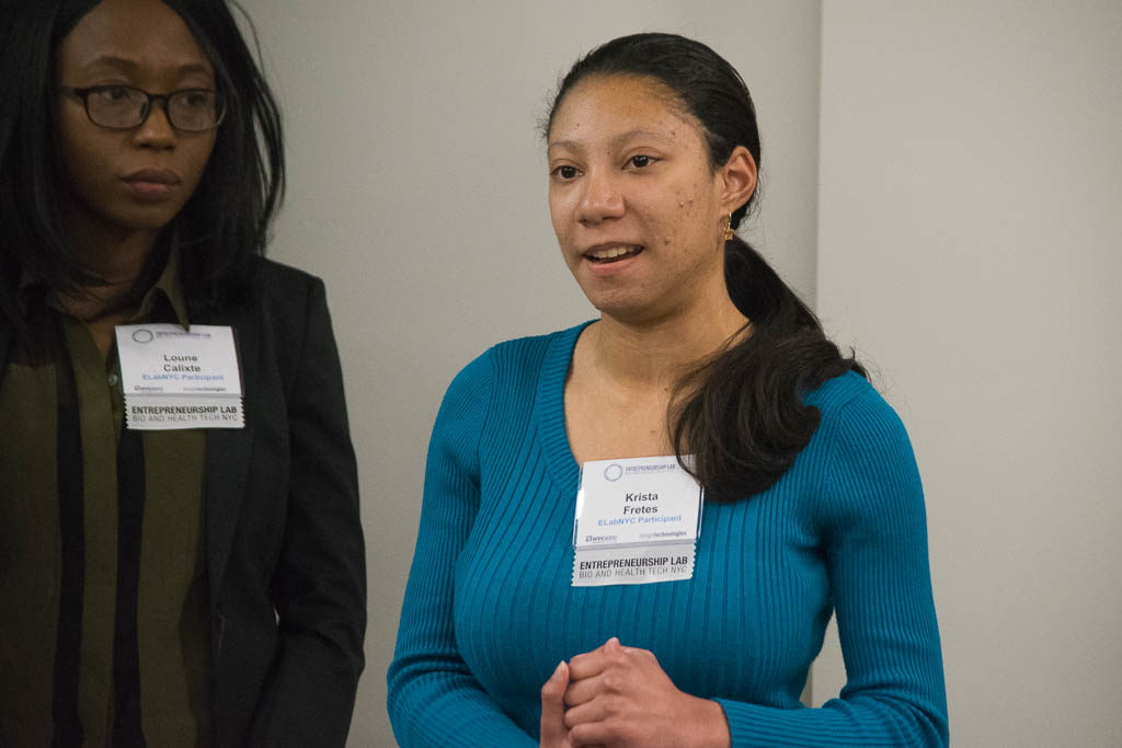 Loune Calixte, Patch, Krista Fretes, New York University