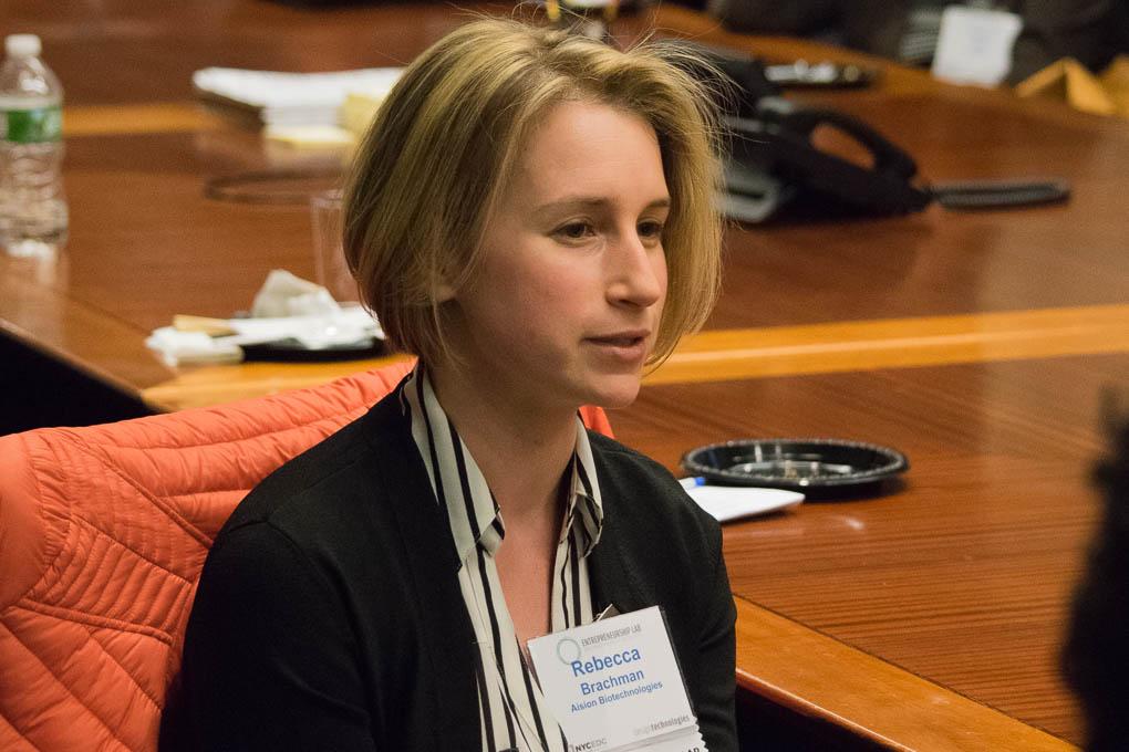 Rebecca Brachman, Aision Biotechnolgoies