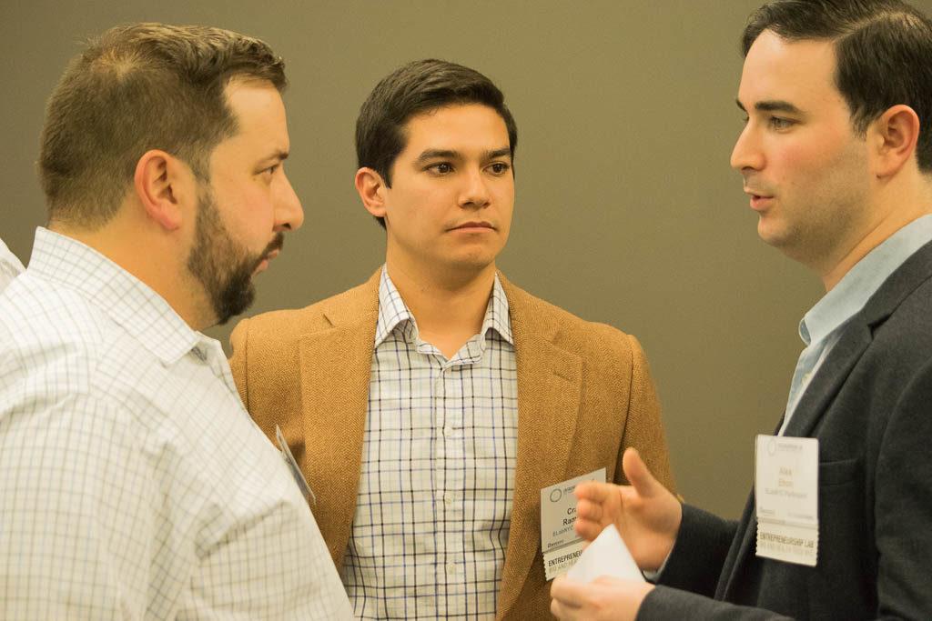 Peter Shapiro, GlobalData, Craig Ramirez, and Alex Efron, TezCat