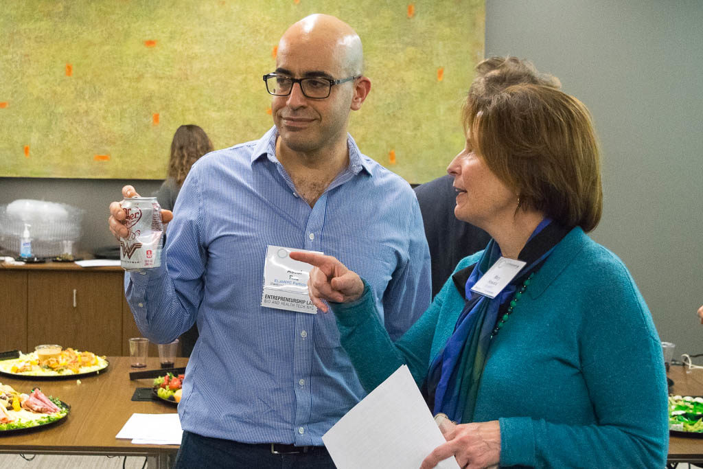 Assaf Raz, Rockefeller University, and Mary Howard, ELabNYC