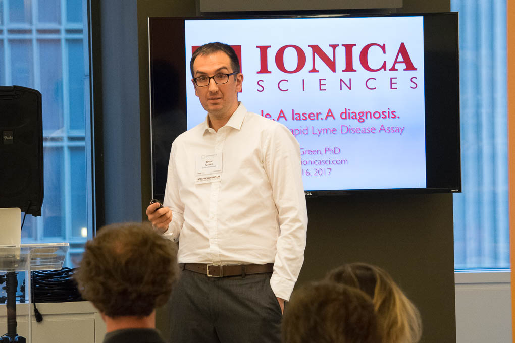 Omar Green, Ionica Sciences