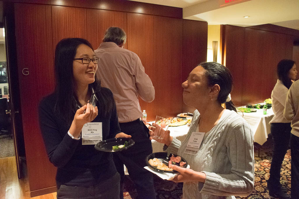 Shih-Ying Wu, Columbia and Krista Fretes, New York University