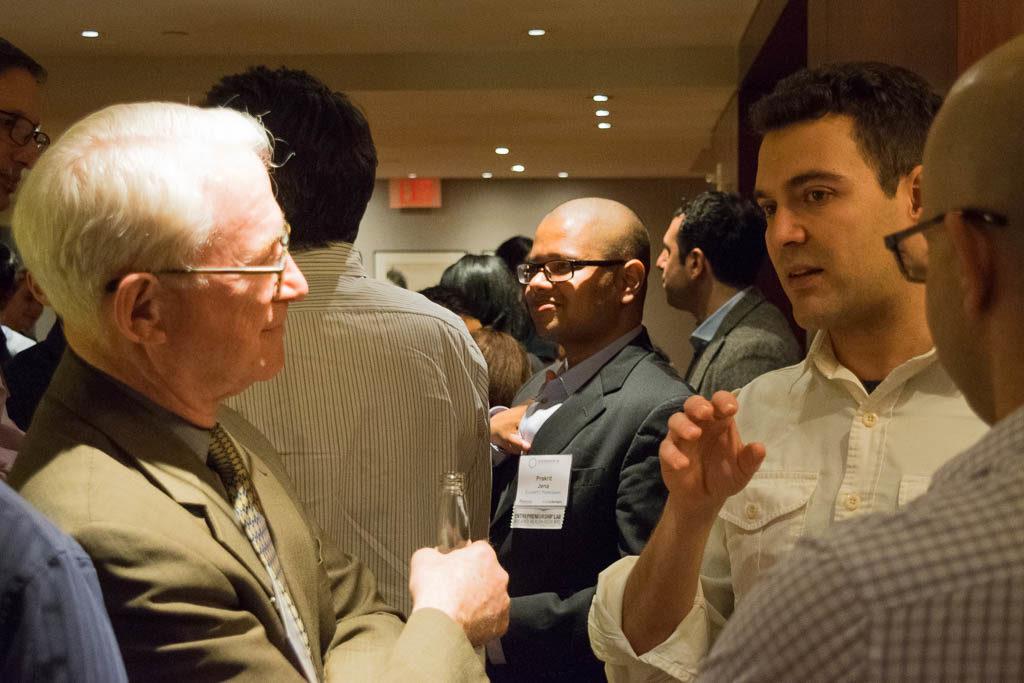 Steve Goodman, Mid Atlantic BioAngels and Pryor Cashman, Luis Santos, Columbia