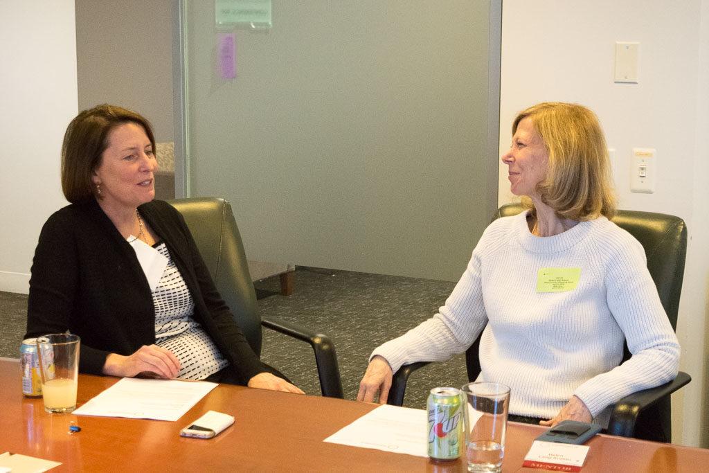 Mary Howard, ELabNYC; Helen Lang Suskin, HLS Insights