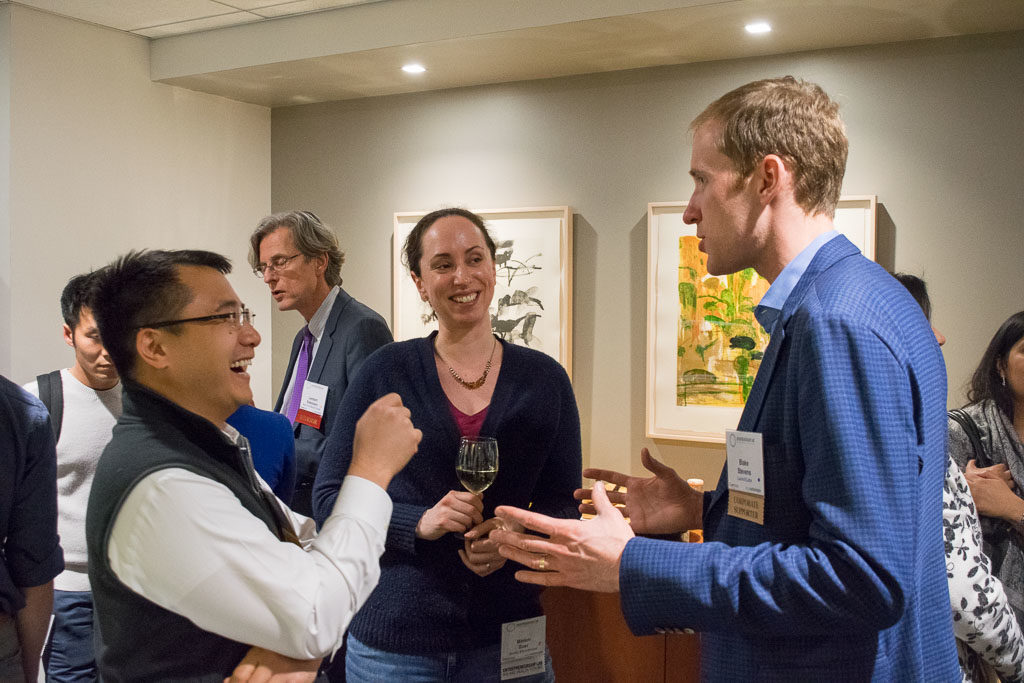Carlo Yuvienco, NYCEDC; Miriam Boer, Sonify Bioscience; Blake Stevens, LaunchLabs