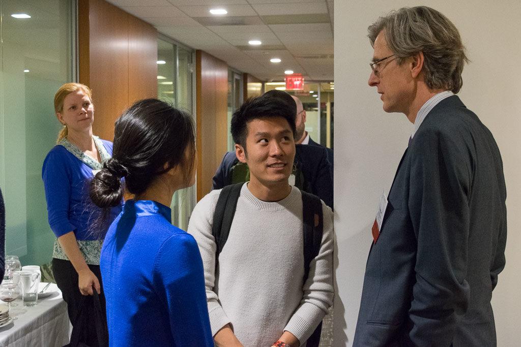 Nathan Kim, Cathecare; Lambert Edelmann, NY Blood Center