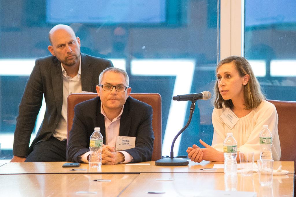 Nadim Shohdy, NYU School of Medicine; Lauren Friedman, Alzheimer's Drug Discovery