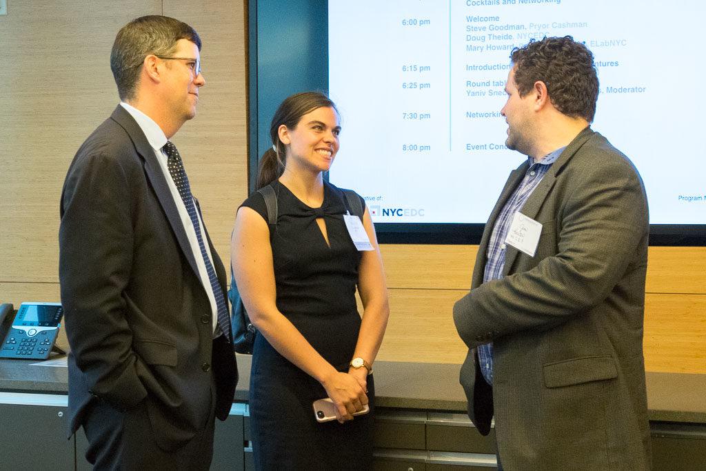 Doug Thiede, NYCEDC ; Sophia Cacciatore, NYCEDC