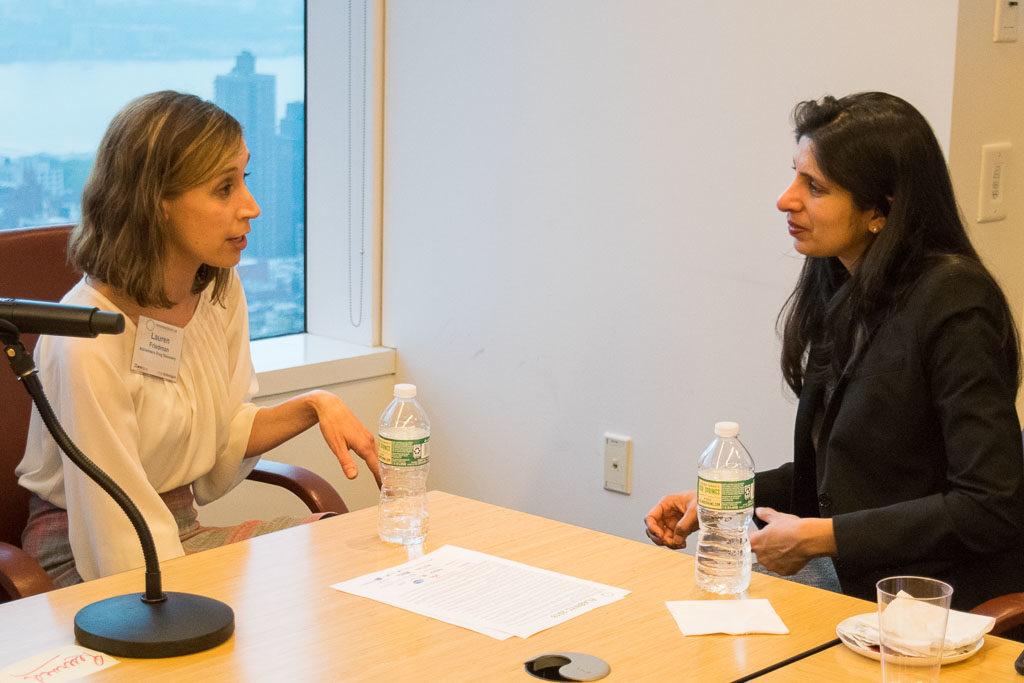 Lauren Friedman, Alzheimer's Drug Discovery; Kalpana Gupta, Regeneron