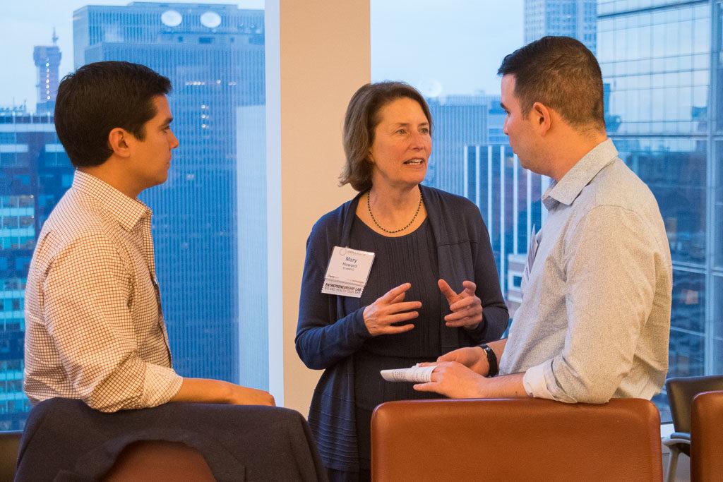 Craig Ramirez, TEZCAT Laboratories; Mary Howard, Program Manager ELabNYC;