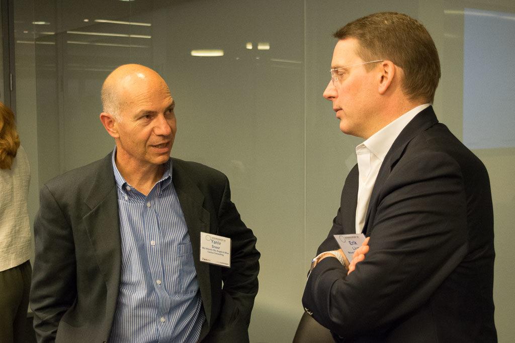 Yaniv Sneor Mid Atlantic Bio Angels &  Blue Cactus Consulting; Erik Lium, Mt. Sinai Innovation Partners