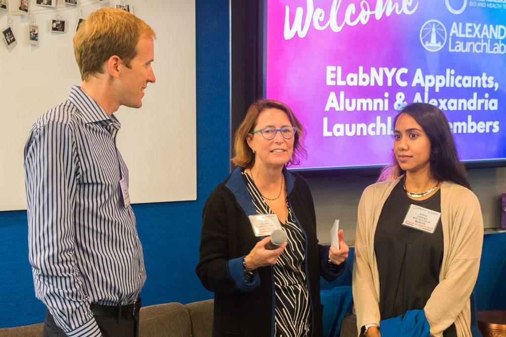 Blake Stevens, Launch Labs, Mary Howard, ELabNYC Program Manager