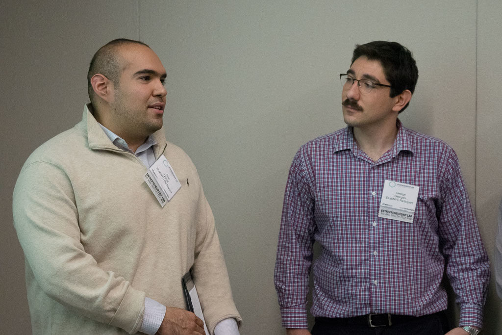 Jose Quiroz, Bow Therapeutics and George Georgiev, Bow Therapeutics