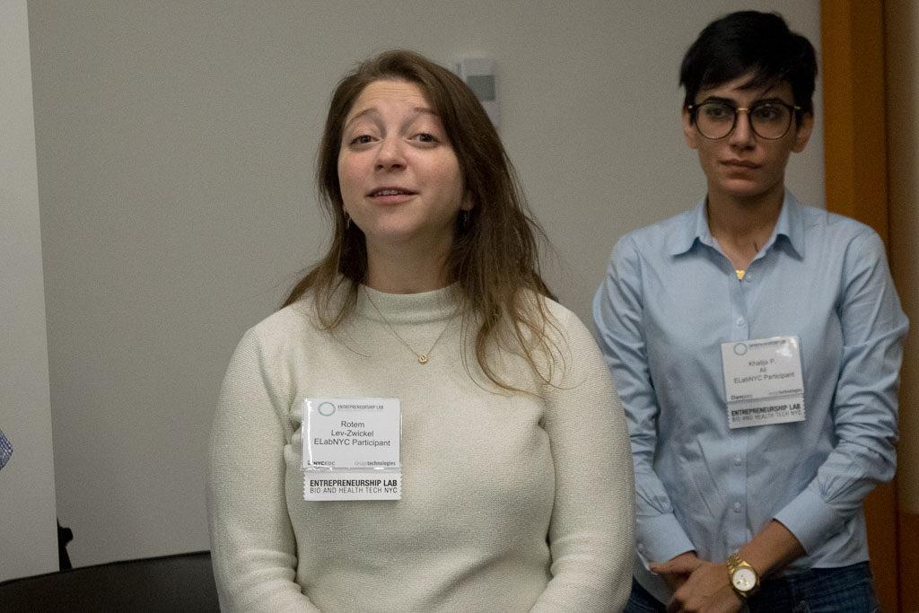 Rotem Lev-Swickel, Agamon and Khatija Ali, BioSapien