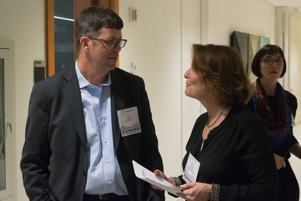 Doug Thiede, NYCEDC and Mary Howard, ElabNYC