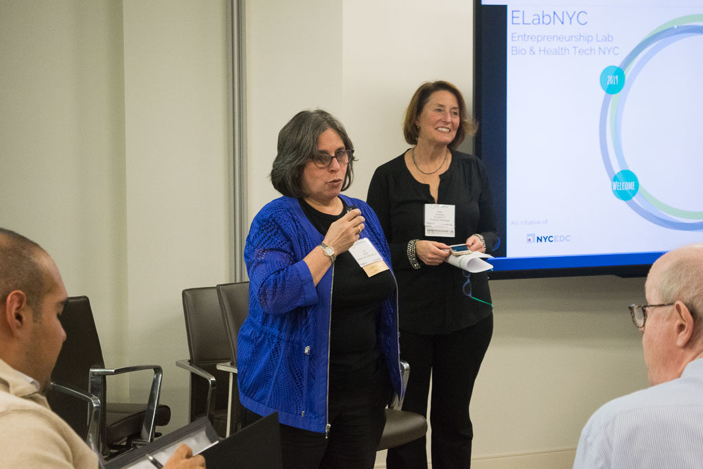 Lori Smith, White & Williams LLP and Mary Howard, ElabNYC
