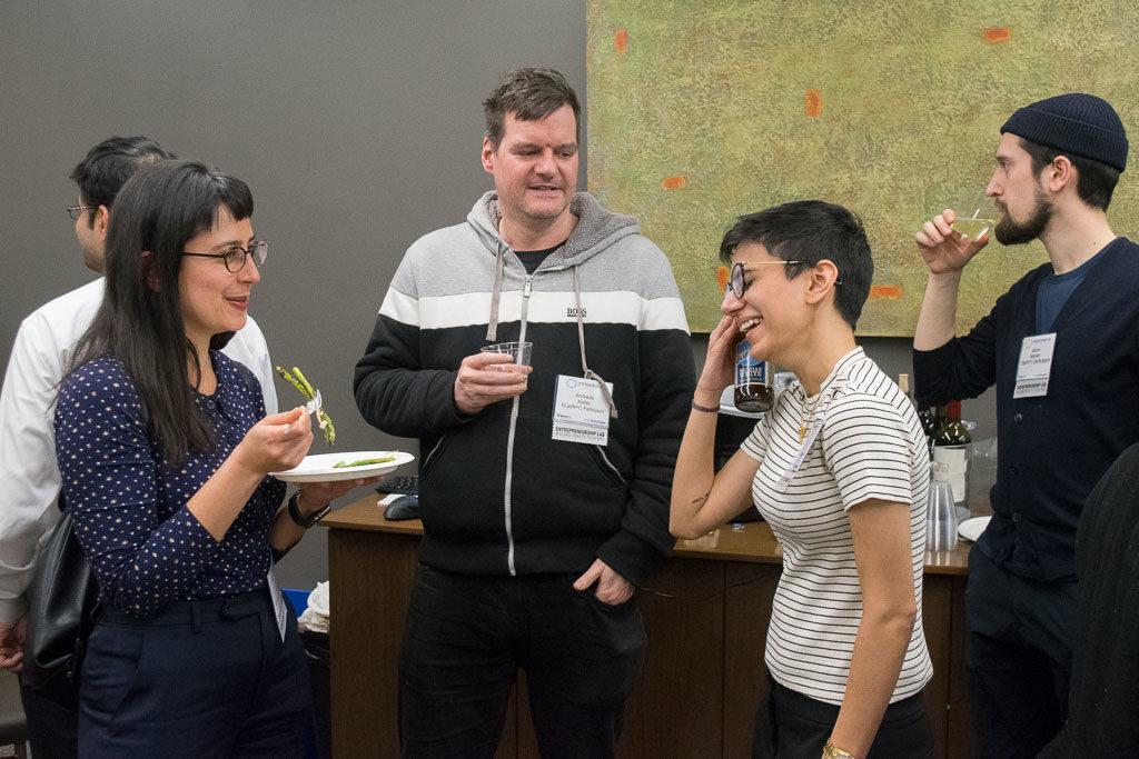 Anaïs Rameau, MyophonX; Andreas Keller, Smell-RS; and Khatija Ali, BioSapien