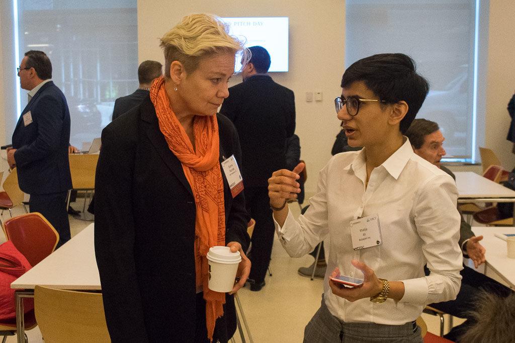 Donna Rounds, Tohi Ventures and Khatija Ali, BioSapen