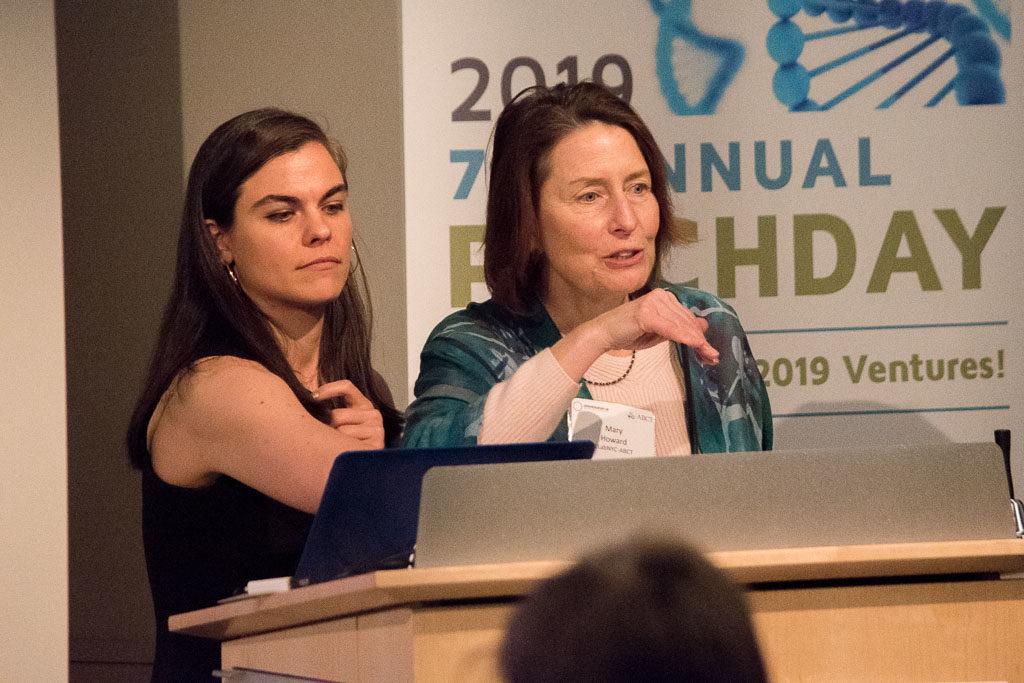 Sophia Cacciatore, NYCEDC and Mary Howard, ELabNYC