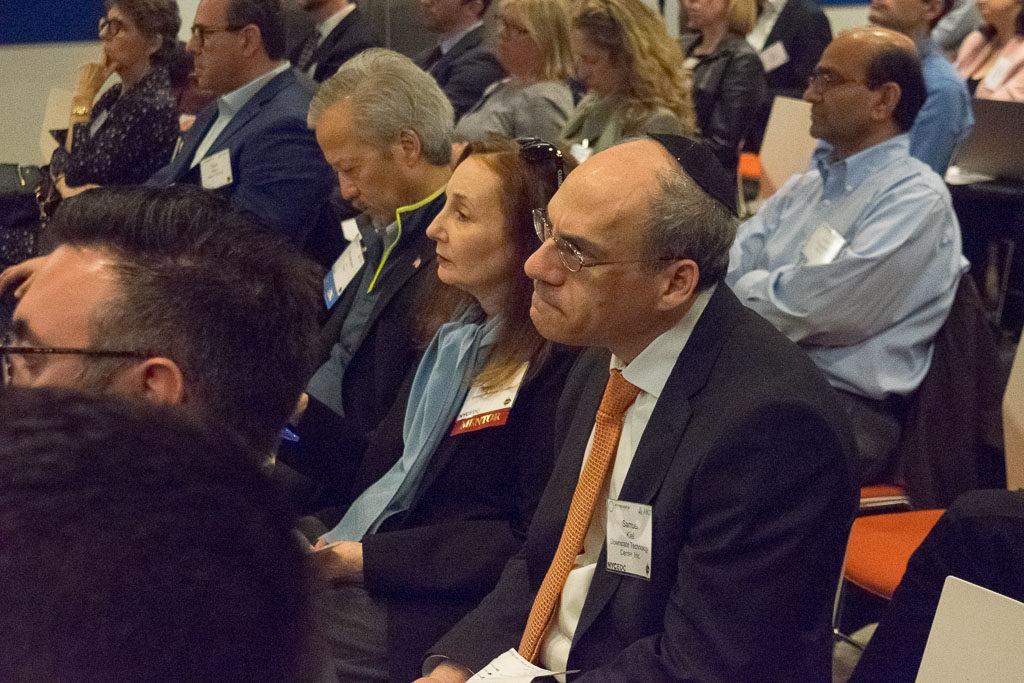 Donna Halperin, SVP and Samuel Kiel, Downstate Technology Center