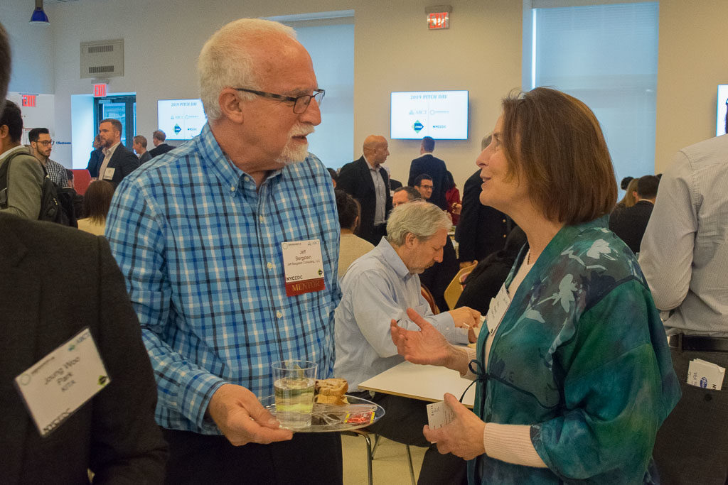 Jeff Bergstein, Consulting and Mary Howard, ElabNYC program manager