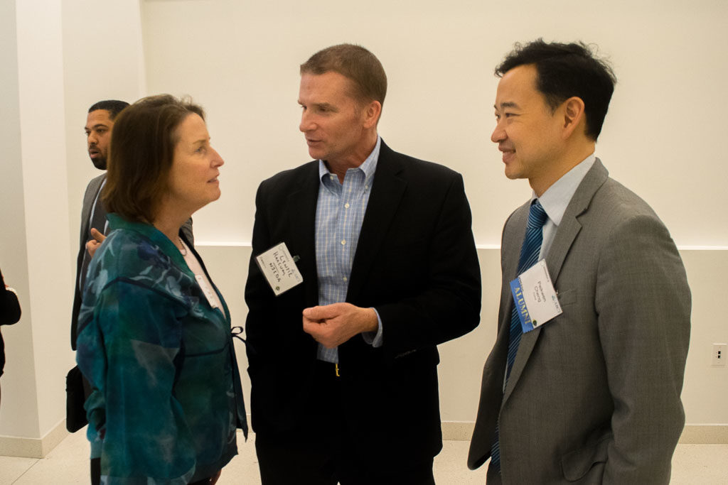 Mary Howard, ElabNYC Program Manager and Peikwen Cheng, Yiviva