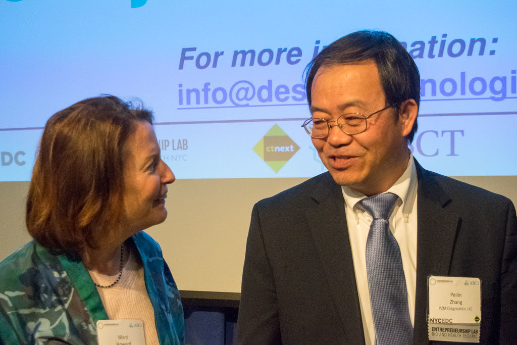Mary Howard, ELabNYC and Peiling Zhang, PZM Diagnostics
