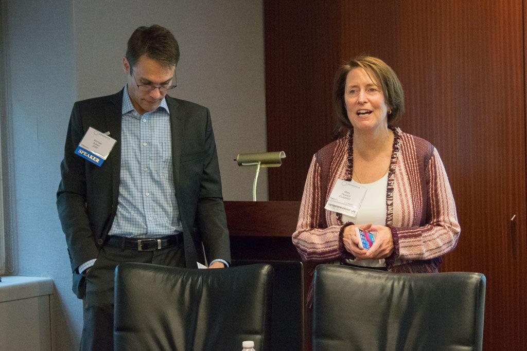 Michael Batten, JDRF, Mary Howard, Program Manager ELabNYC