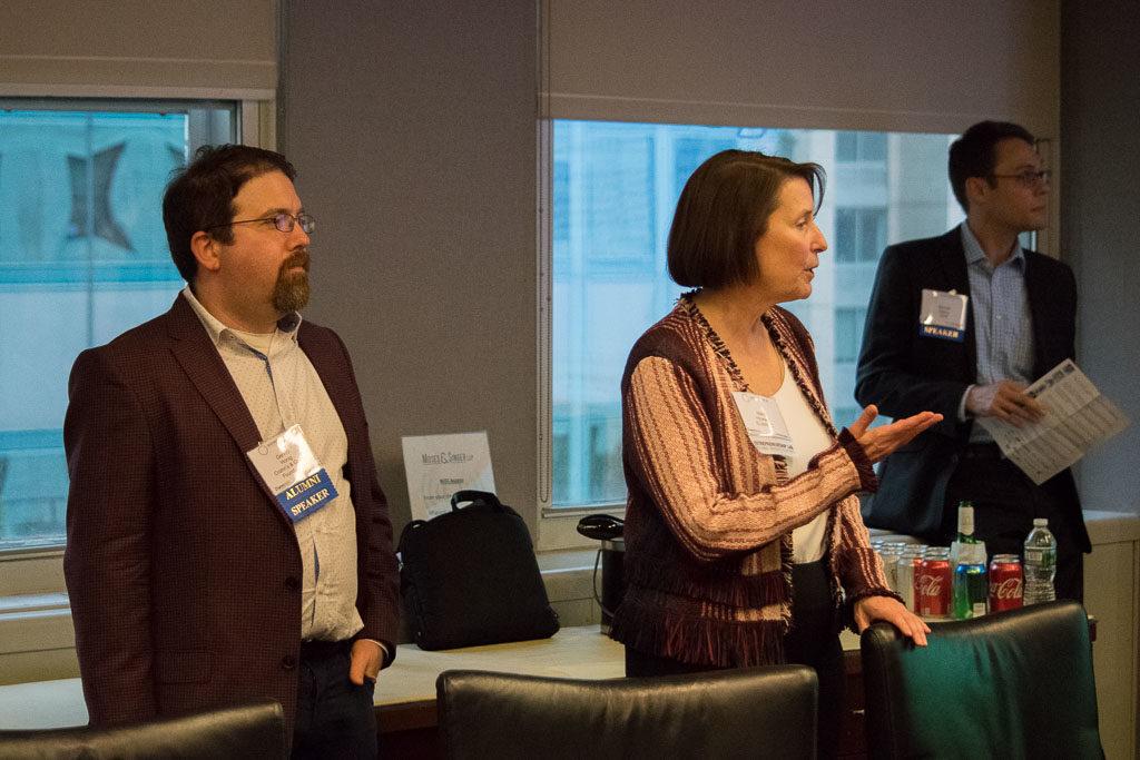 Gerard Honig, Crohn's & Colitis Foundation, Mary Howard, Program Manager ELabNYC