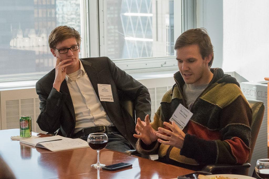 Jon Zaikowski and Ben Young, CapCell Biologics