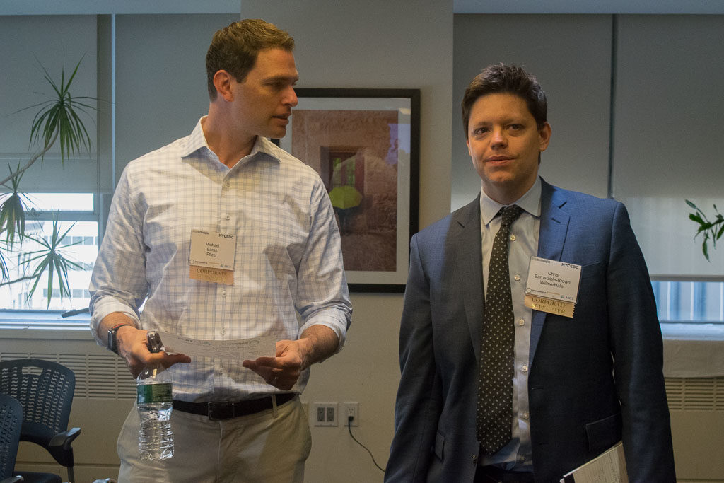 Michael Baran, Pfizer Ventures and Chris Barnstable-Brown, WilmerHale